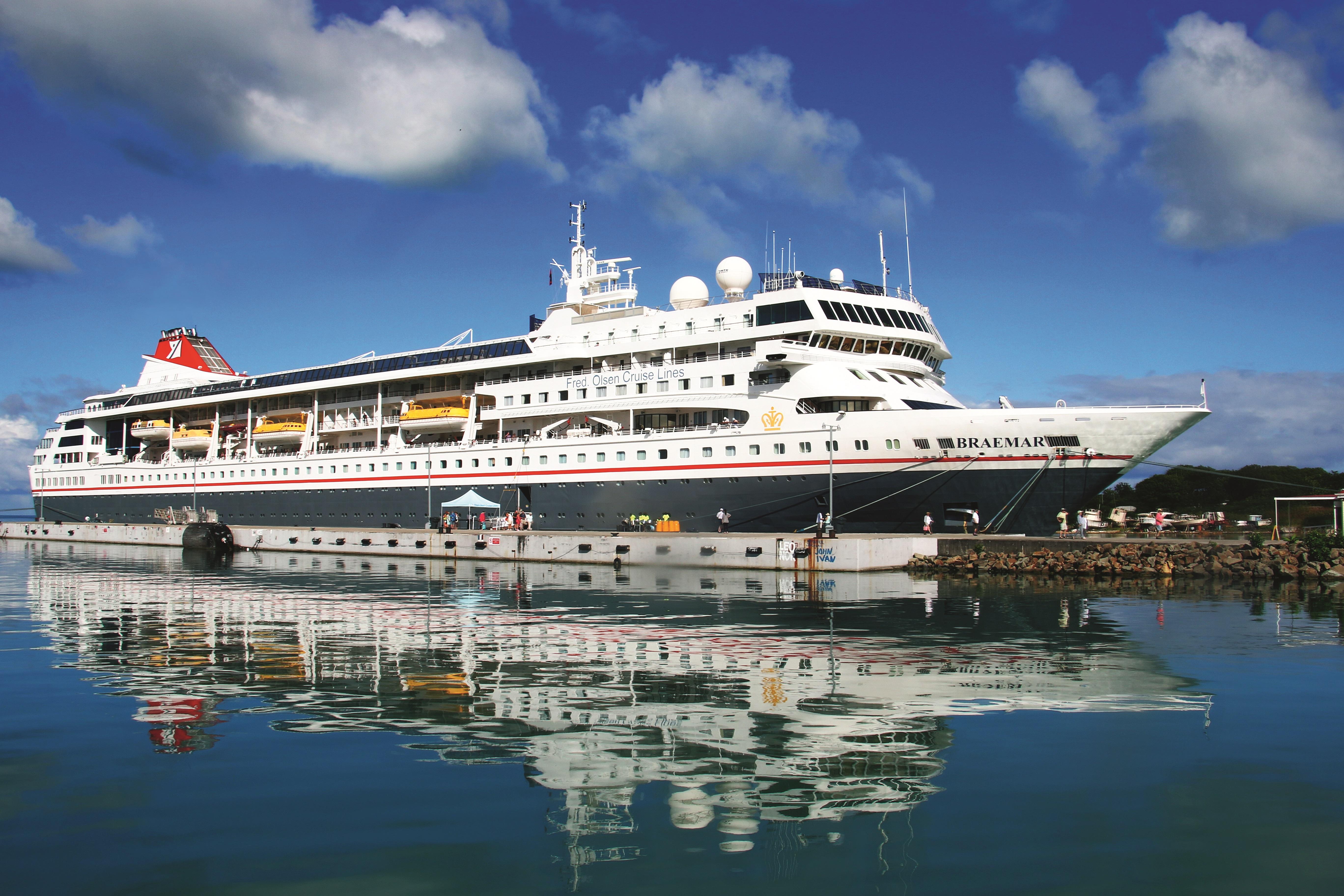 Breamar, Fred. Olsen Cruise Lines, Fred. Olsen Travel