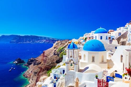 Santorini, Hellas