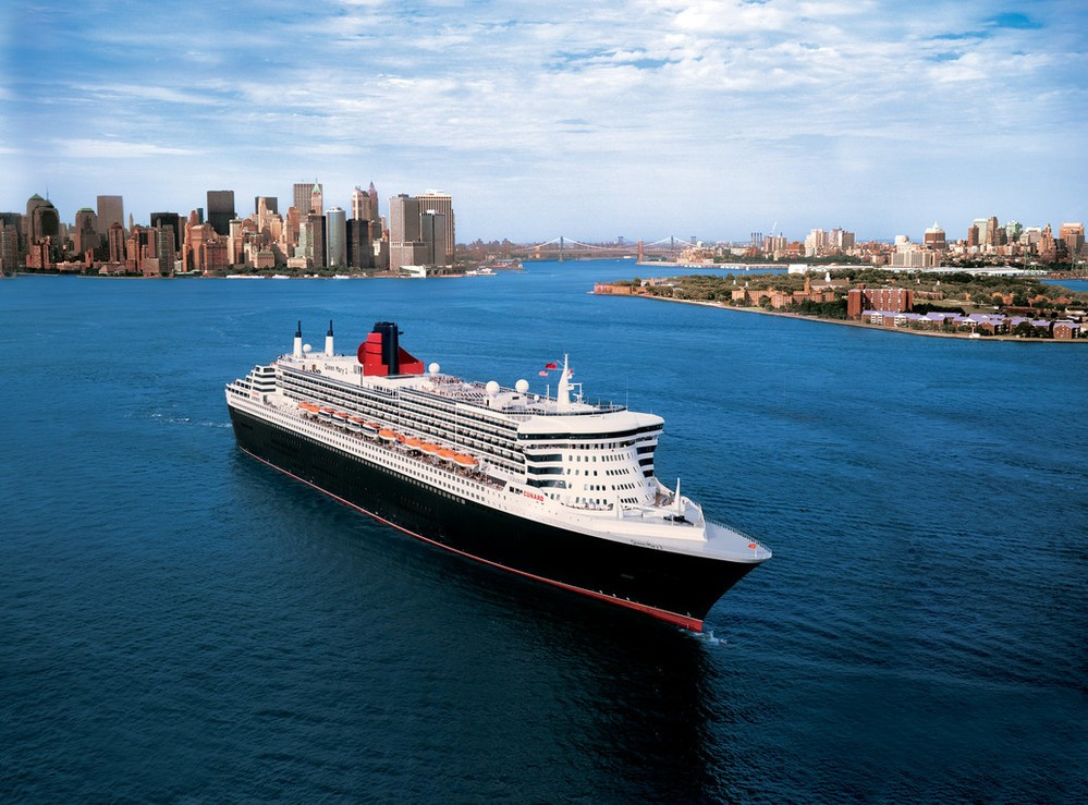 Cunard, QM2 in New York, Fred. Olsen Travel