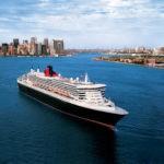 Cunard, QM2 at New York, Fred. Olsen Travel