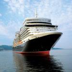 Cunard, Queen Elizabeth at sea, Fred. Olsen Travel