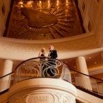 Cunard, QM2, Grand Lobby, Fred. Olsen Travel
