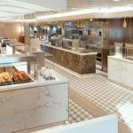 Cunard, QM2, Kings Court serving area, Fred. Olsen Travel