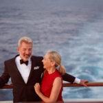 Cunard, QM2 sunset, Fred. Olsen Travel