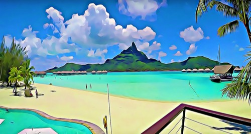 Bora Bora, Stillehavet, Fred. Olsen travel