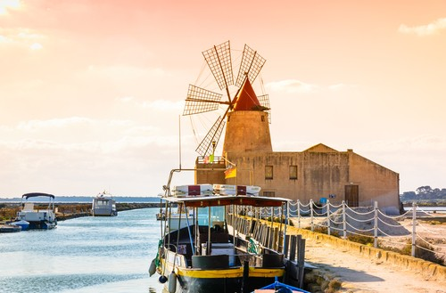 Trapania Sicilia, Italia, Fred. Olsen Travel