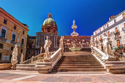 Palermo, Sicilia, Italia, Fred. Olsen Travel