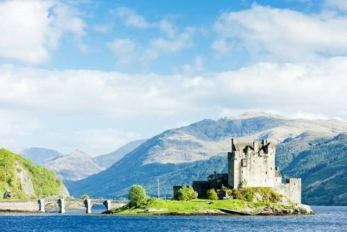 Eilean Donan Castle, Portree, Skottland