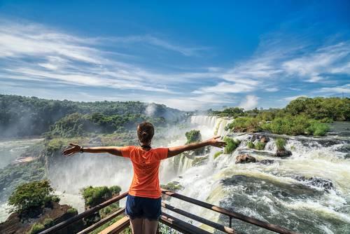 Banner Iguazu fallene Brasil Fred. Olsen Cruise Lines, Fred. Olsen Travel