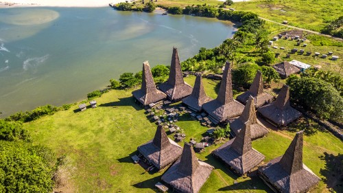 Traditional houses, Sumba island, Indonesia