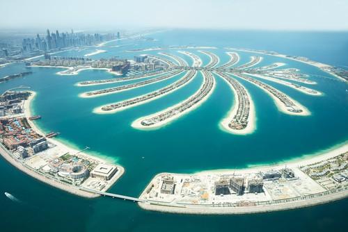 Jumeirah Palm Island On Sea, Dubai, De forente arabiske emirater