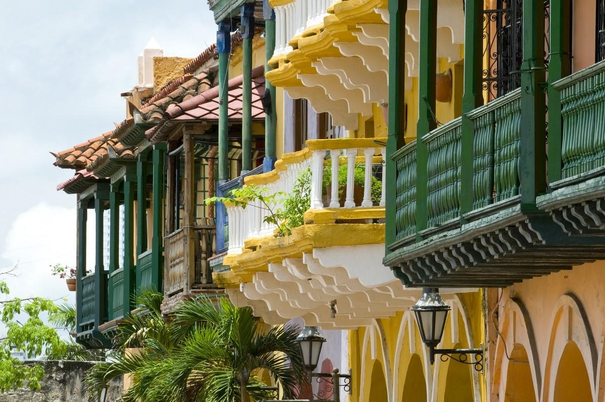 Banner, Cartagena de Indias, Colombia