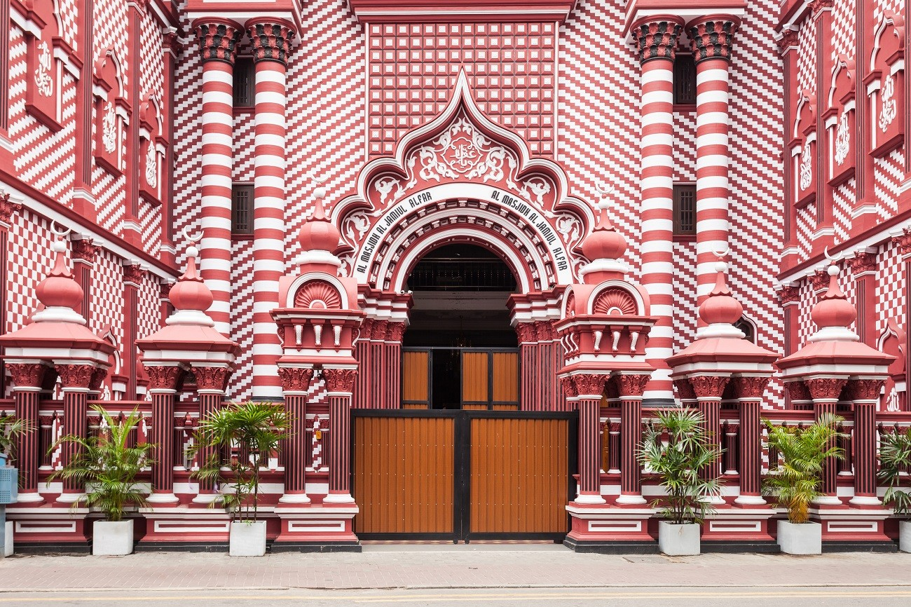 Red Masjid Mosque is a historic mosque in Colombo, Sri Lank