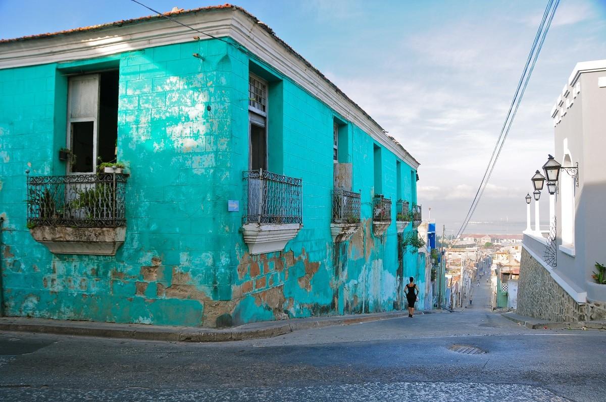Banner, Santiago de Cuba, Cuba