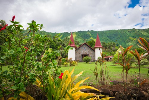 Nuku Hiva, Marquesas, French Polynesia