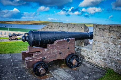 Fort Charlotte in Lerwick, Shetland,Scotland, United Kingdom