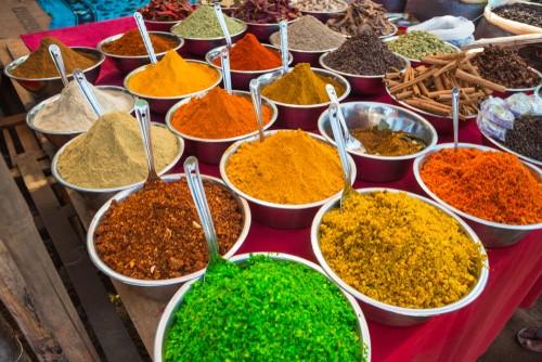 Spices,. Goa, India