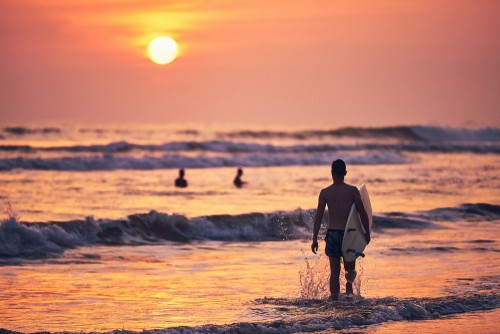 Surfers, Matara, Sri Lanka