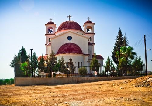Orthodox Church in Limassol, Cyprus, Kypros
