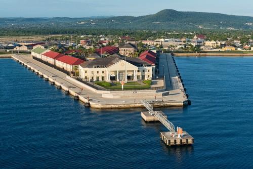 Cruise ship port, Falmouth, Jamaica