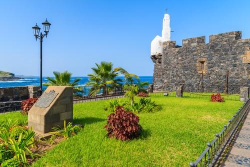 Castle San Miguel de Garachico, Tenerife, Canary Islands, Kanariøne, Spain, Spania
