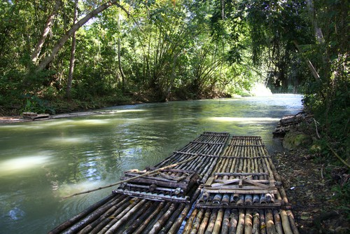 Martha Brae river, Falmouth, Jamaica