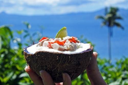 Fijian Food, Kokoda, Fiji