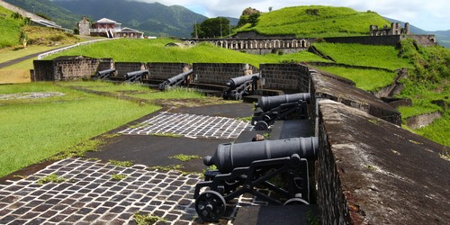 Cannons at Brimstone Hill Fortress – St Kitts