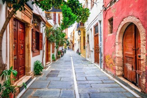 Rethymno.Crete island, Kreta, Hellas