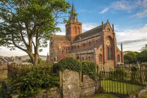 St Magnus Cathedral, Kirkwall, Scotland, United Kingdom