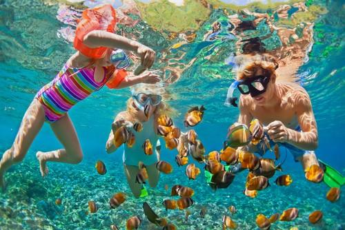 Snorkeling, Phuket, Thailand