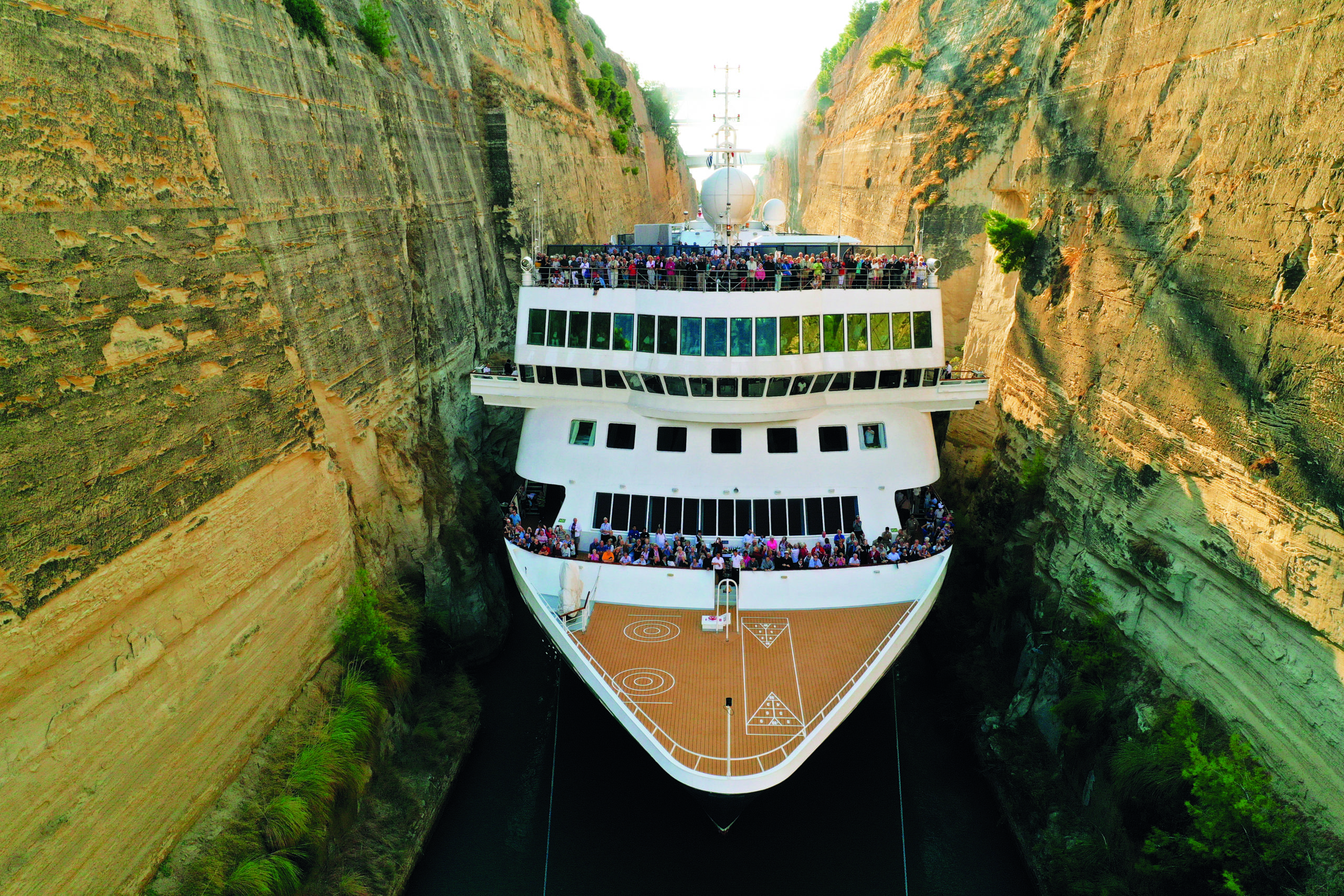 Greske øyer og cruise gjennom Korintkanalen 2022