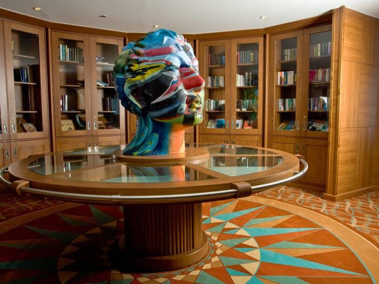 Library, Braemar
