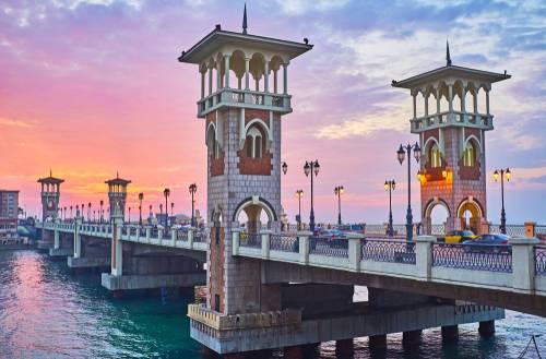 Stanley Bridge Alexandria, Egypt