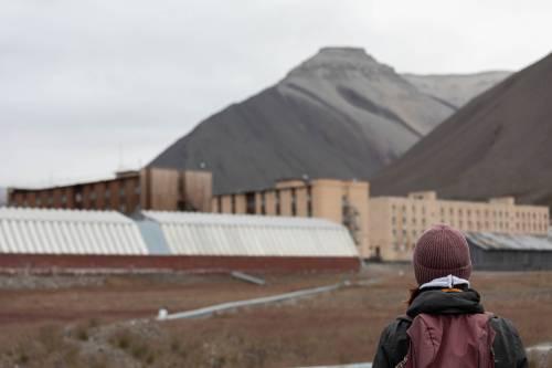 Pyramiden Svalbard Norge