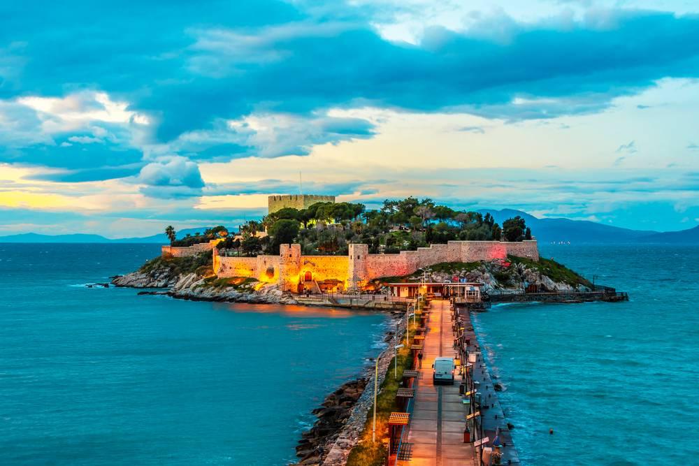 Pigeon Island, Kusadasi, Tyrkia