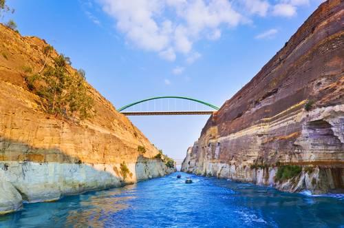 Korintkanalen Hellas