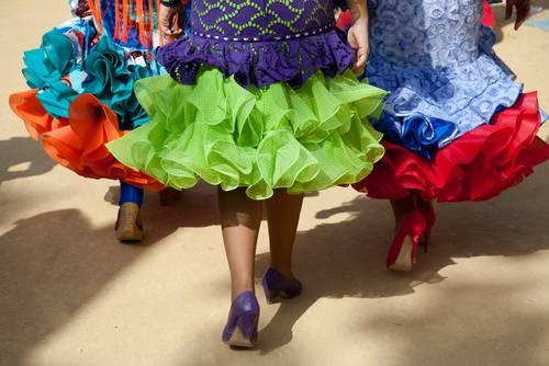 Cadiz Spania Flamenco