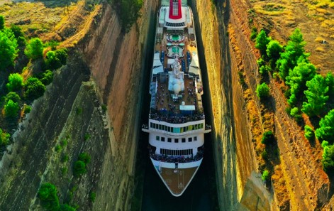 Korintkanalen Breamar