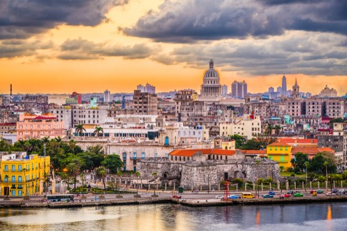Havana, Cuba sentrum