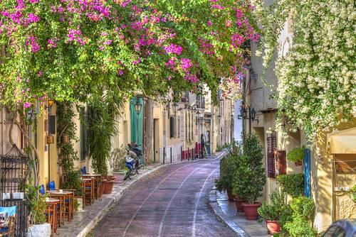 Plaka, Aten, Hellas