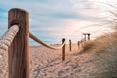 Es Cavallet Beach, Ibiza, Balearene, Spania