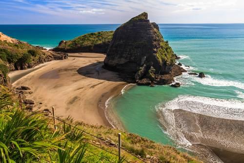 Piha-stranden, Nordøya, Auckland, New Zealand