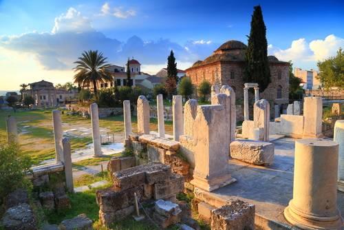 Romersk agora, Athen, Hellas