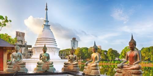 Seema Malaka temple. Colombo, Sri Lanka