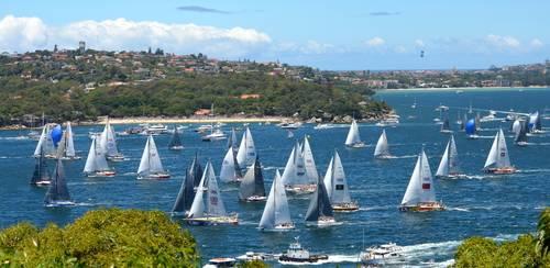 Seilbåter, Sydney, Australia