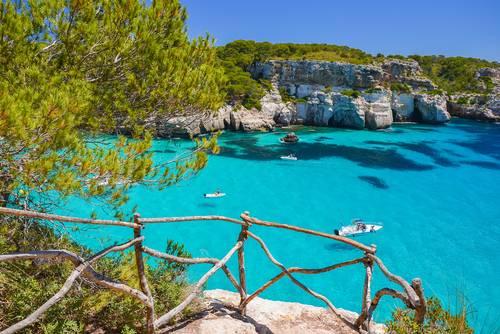 Cala Macarelleta, Menorca, Balearene, Spania