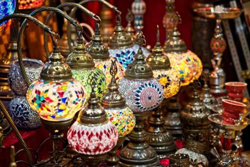 Lampeskjerm, Muscat, Oman