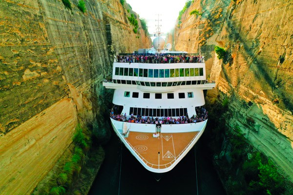 Greske øyer og Korintkanalen