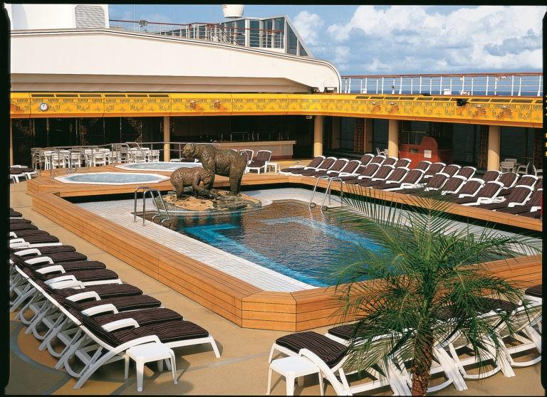 Bolette -basseng med overbygg -Fred. Olsen Cruise Lines